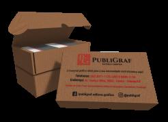 Caixa personalizada para 500 cartões