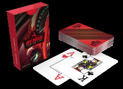 1 jogo de baralho de papel personalizável
